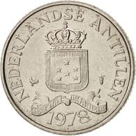 Netherlands Antilles, Beatrix, 25 Cents, 1978, TTB+, Nickel, KM:11 - Antille Olandesi