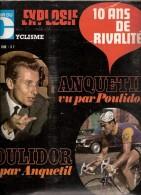 MIROIR DU CYCLISME N° 122 DECEMBRE 1969 ANQUETIL POULIDOR MAGNE JUGE DESSINS DE PELLOS - Sport