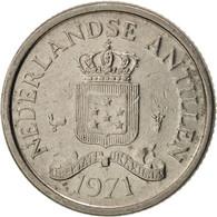 Netherlands Antilles, Juliana, 10 Cents, 1971, TTB, Nickel, KM:10 - Antille Olandesi