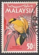 Malaysia. 1965 Birds. 50c Used. SG 22 - Malaysia (1964-...)