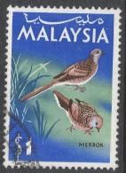 Malaysia. 1965 Birds. $1 Used. SG 24 - Malaysia (1964-...)