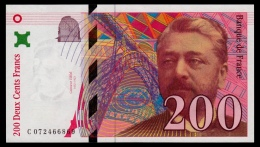France 200 Francs 1999 UNC - 200 F 1995-1999 ''Eiffel''