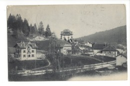 14497 - Ballaigues + Cachet Hôtel-Pension De L'Aurore H. Doy-Conod 2 Scans - VD Vaud