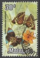 Malaysia. 1970 Butterflies. 30c Used. SG 65 - Malaysia (1964-...)