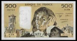 France 500 Francs 1988 UNC - 1962-1997 ''Francs''