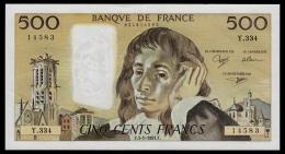 France 500 Francs 1991 XF+ - 1962-1997 ''Francs''