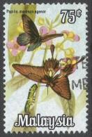 Malaysia. 1970 Butterflies. 75c Used. SG 67 - Malaysia (1964-...)