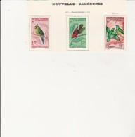 NOUVELLE - CALEDONIE - POSTE AERIENNE   N° 88 A 90 - NEUF X - COTE : 44,50 € - Neukaledonien