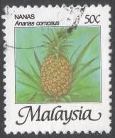 Malaysia. 1986 Fruits Of Malaysia. 50c Used. SG 345 - Malaysia (1964-...)