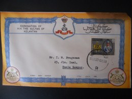 Malaisie Lettre De Kuala Lumpur 1961 - Kelantan