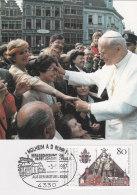 Deutschland BRD 1987 - Besuch Papst Johannes II Auf Maximumkarte - Stempel:  Mülheim An Der Ruhr 3.5.1987 - Pausen