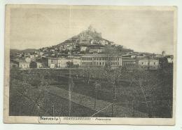 MONTESARCHIO 1938  VIAGGIATA FG  - PIEGA AL CENTRO - Benevento