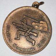 - Belle Médaille Militaire - Allemande - Fusilier Kompanie, Tank, 11/97, Bon état, Scans. - France