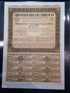 CREDIT FONCIER DU BRESIL ET DE L'AMERIQUE DU NORD - Bon De 350 Francs Au Porteur - 1940 - Actions & Titres