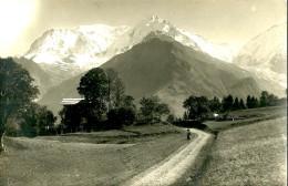 Non Classés. La Route De Combloux Et Le Mont Blanc. - France