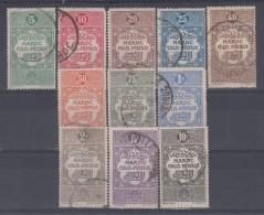 MAROC - Colis Postaux 1/11 Obli Cote12 Euros Depart à 10% - Used Stamps