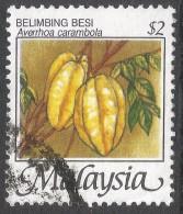 Malaysia. 1986 Fruits Of Malaysia. $2 Used. SG 348 - Malaysia (1964-...)