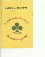 Buvard G F_22x15 -Papier De Toilette ( La Plus Ancienne Marque - Wassen En Poetsen