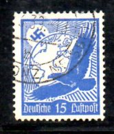 TERZO REICH 1934 , Posta Aerea Usato Aquila Unificato N. 45 - Germania