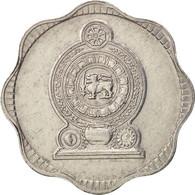 Sri Lanka, 10 Cents, 1978, TTB, Aluminum, KM:140a - Sri Lanka