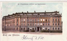 Muenchen - Gruss Aus    Kriesaccademie    1902  B509 - Nuernberg