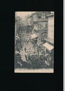 MONTFERRAND Sixième Concours Des Patronnages à Montferrand En 1913  Le Défilé Rues De La Ronade Et Du Séminaire - Clermont Ferrand