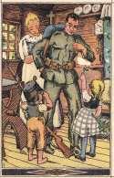 SCHWEIZER NATIONALSPENDEKARTE 1919 - Los Zu Gunsten Der Nationalspende, Tombola, Abgeschürfte Stelle (weißer Fleck) - Schweiz