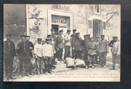Poste Et Facteur - Le Bureau De Poste De Jouville (Meuse) Occupé Par Les Allemands / Guerre De 1914 - Post & Briefboten