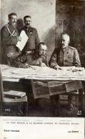 RUSSIE LE TSAR NICOLAS II AU QUARTIER GENERAL - Russie