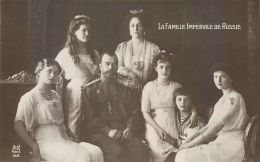 RUSSIE  LA FAMILLE IMPERIALE AU COMPLET - Russia