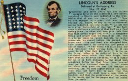 Lincoln's Address,Gettysburg , Pennsylvania - Other