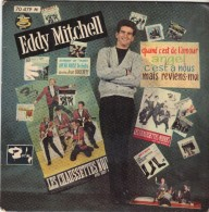 EP 45T EDDY MITCHELL - Autres - Musique Française