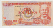 Bolivia 100 Bolivianos 1986  Pick 236 UNC - Bolivië