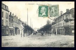 Cpa  Du 78 Croissy -- Boulevard De La Mairie   LIOB92 - Croissy-sur-Seine