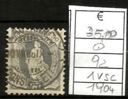 1904    SVIZZERA  Val Da 40  Usato - Usati