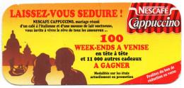 PUBLICITE BON DE REDUCTION  Nescafe Cappuccino  1996 - Cioccolato