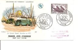Algéria - Service Postal Maritime ( FDC De 1957 à Voir) - FDC