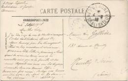 BEAUNE CENTRALISATEUR 4.9.18 CARTE COTE D'OR - Oorlog 1914-18