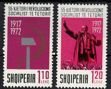 Albania 1972 _ The 55th Anniversary Of The October Revolution _ Full Set - MNH** - Albania