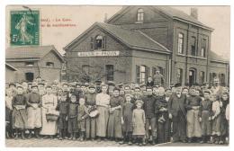 PROVIN-BAUVIN La Gare -Manifestations  (Vraisemblablement Dans Le Textile) - France