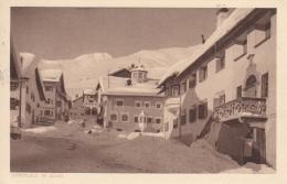 Zuoz Mit Dorfplatz Im Winter - GR Grisons