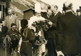 France Haute Savoie President Lebrun Restaurant Col Des Aravis Ancienne Photo 1936
