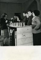 France Nouvelles Coopératives Ouvrières Francaises Propagande Ancienne Photo Trampus 1944