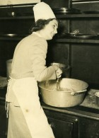 France Paris Salle Iena Antoinette Payen élue Miss Cordon Bleu Ancienne Photo 1948 - Professions