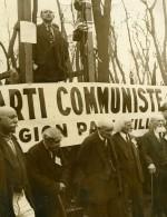 France Vincennes 1er Mai Pionniers Du Communisme à La Tribune Ancienne Photo 1934