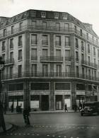 France Paris Nouvel Immeuble Du Parti Communiste Carrefour Chateaudun Ancienne Photo 1938 - Places