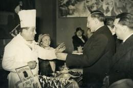 France Paris Quai D'Orsay Ministre Yvon Delbos Exposition Gastronomique Ancienne Photo 1937 - Professions