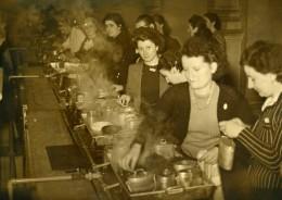 France Paris Hotel De Ville Refectoire Des Employees Ancienne Photo 1939 - Professions