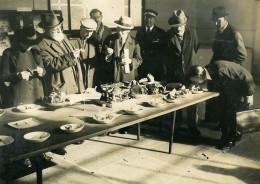 France Paris Musée Exposition De Champignons Amanites Ancienne Photo LAPI 1940 - Professions