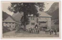 """5 CPA Animées Pretres Et Enfants Jouants """"Colonie De Caecilia"""" Vers Thorens-Glière (74). Edit: Jullien Frères Genève - Thorens-Glières"""